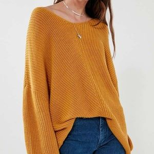 Urban Outfitters BDG Harper Knit High-Low Sweater